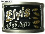 ELVIS 1937 - 1977 Belt Buckle Limited Edition + display stand